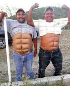 Belly fat fun