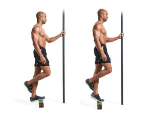 Single leg calf raise