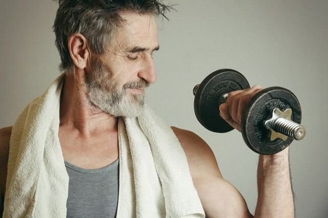 How to build muscle after 40?