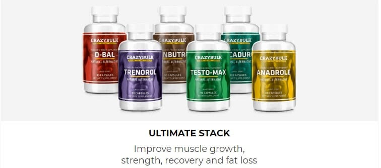 Ultimate bodybuilding stack