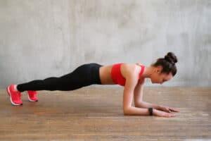 Plank women