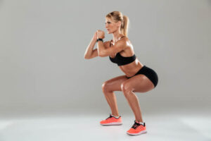 Squats women